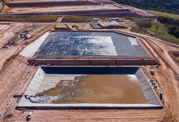 Obras mineras y rellenos sanitarios